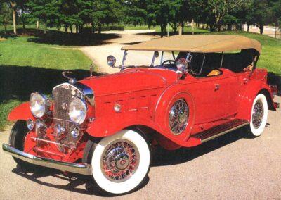 1930 Cadillac V-16 Dual-Cowl Sport Phaeton