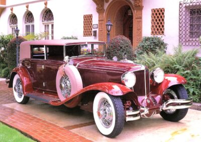 1930 Cord L-29 4-Door Sedan Maroon
