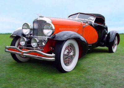 1931 Duesenberg J Boattail Speedster