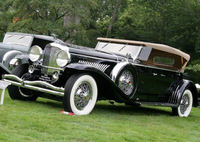 1931 Duesenberg J Derham Tourster