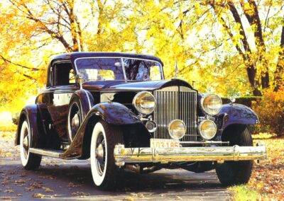 1933 Packard Twelve Sport Coupe