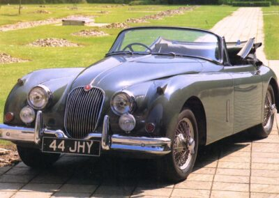 1955 Jaguar XK150 Drop Head Coupe