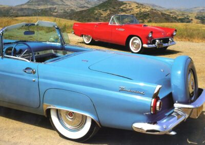 1956 Ford Thunderbird Turquoise